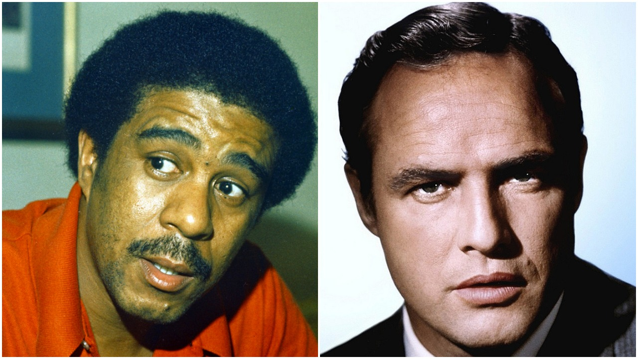 Marlon Brando and Richard Pryor