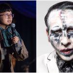 Charlyne Yi and Marilyn Manson