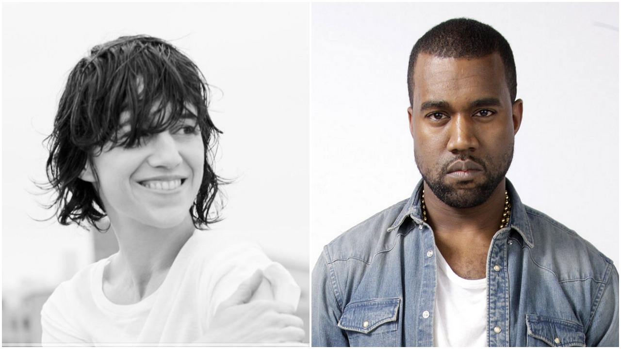 Charlotte Gainsbourg and Kanye West