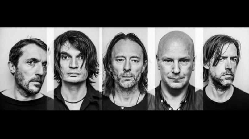 Radiohead, photo by Alex Lake