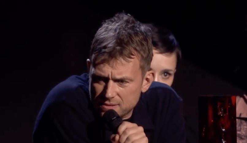 Damon Albarn at BRIT Awards