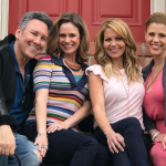 Jeff Franklin and the Fuller House cast