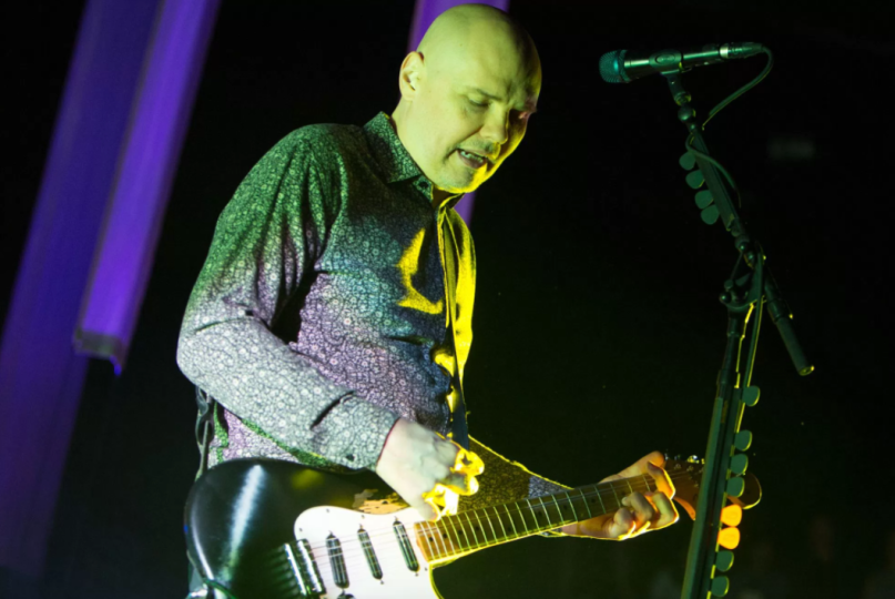 Smashing Pumpkins' Billy Corgan, photo by Philip Cosores