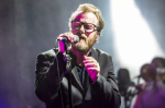 The National's Matt Berninger, photo by Philip Cosores