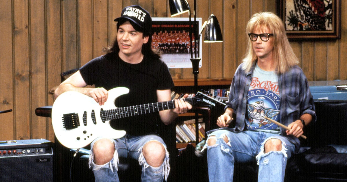 waynes world 25th anniversary 10 things you didnt know read de290c51 c9bb 45ab 9860 1ff4a9fac54f The 50 Greatest Rock and Roll Movies of All Time