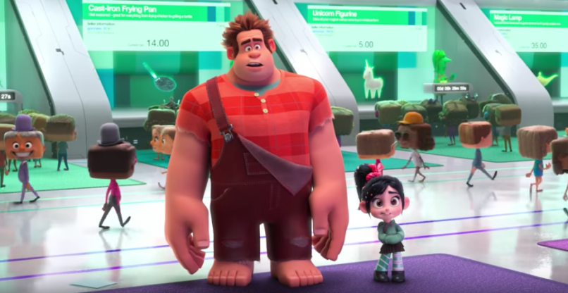 Ralph Breaks the Internet in first trailer for Wreck-It ...