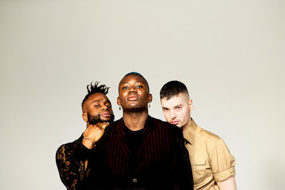 Young Fathers, photo by Julia Nonii