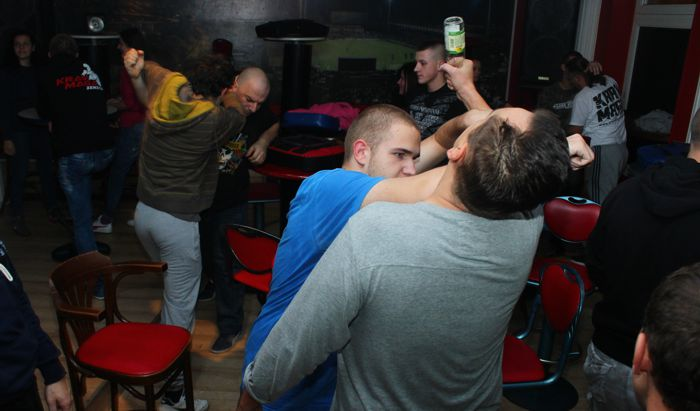 17 mag bar fight seminar krav maga zenica 1 White Mystery celebrate 10th anniversary with new album, Hellion Blender, share Paint YoNails: Stream