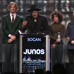 Arcade Fire at the 2018 Juno Awards