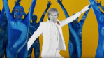 "Beck in the ""Colors"" video"