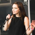 Lauren Mayberry of CHVRCHES, photo by Philip Cosores