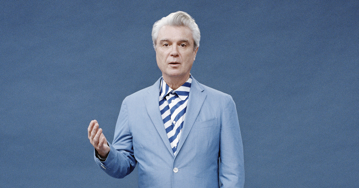 David Byrne, photo by Jody Rogac