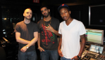 "Noah ""40"" Shebib, Drake, and Pharrell"