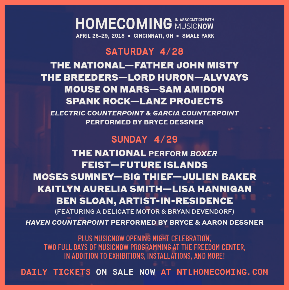 Homecoming Festival lineup