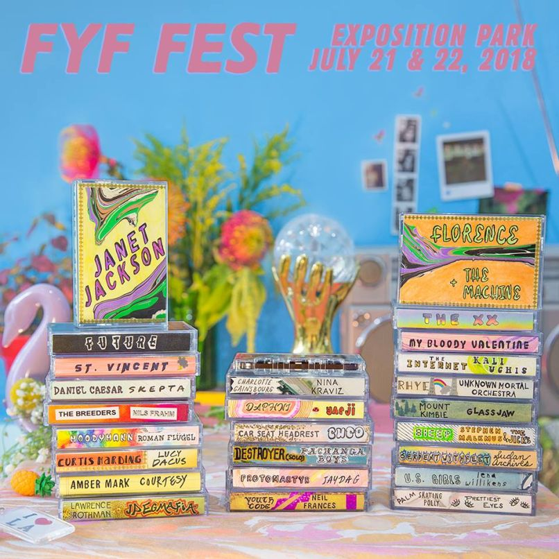 fyf fest 2018 FYF Fest reveals 2018 lineup: My Bloody Valentine, Florence & The Machine, and Janet Jackson to headline