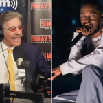 Geraldo Rivera on Sway and Kendrick Lamar, photo by David Brendan Hall