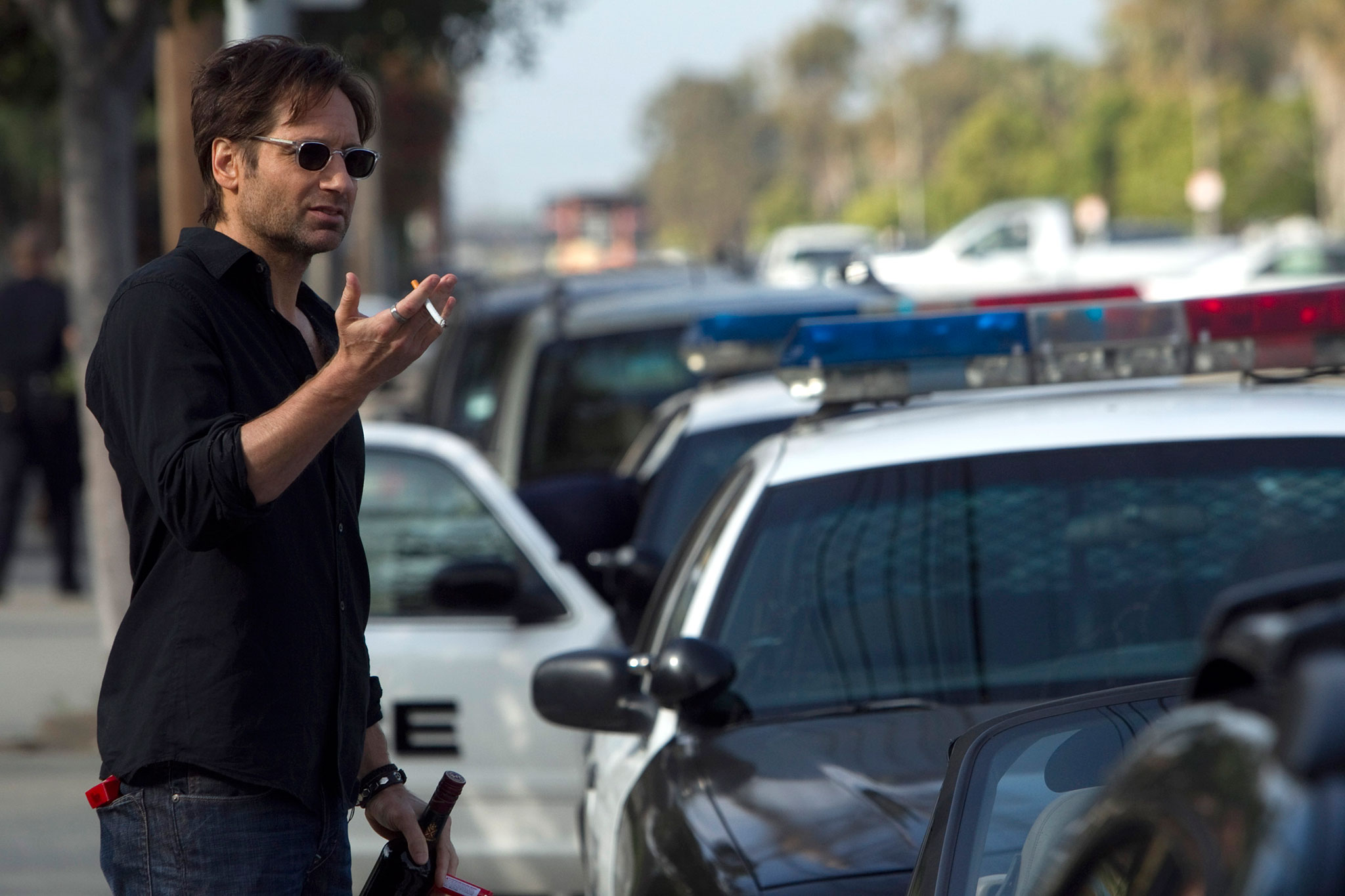 hank californication 10 Years with David Duchovny: On Loving Garry Shandling, Missing Bonnie Hunt, and Fighting for the Future
