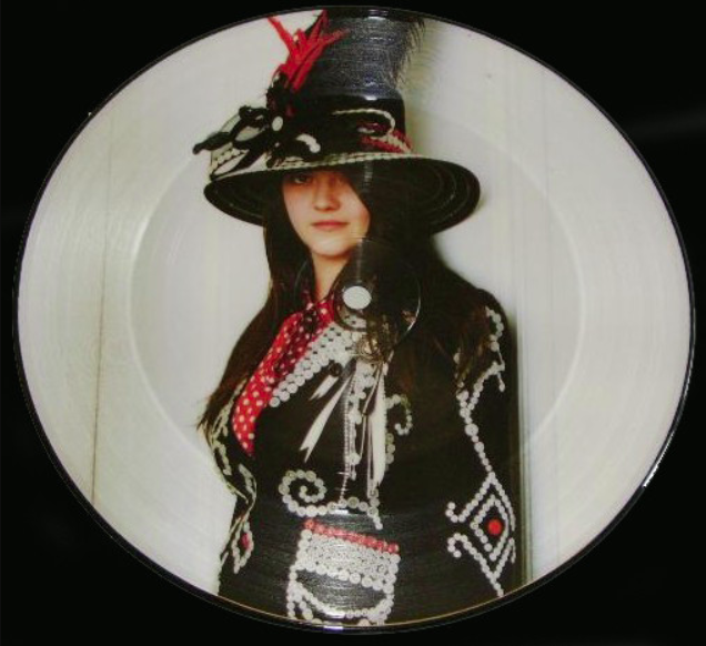 "Rare vinyl version of The White Stripes' ""Icky Thump"""