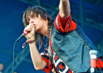 Julian Casablancas, photo by Robert Altman