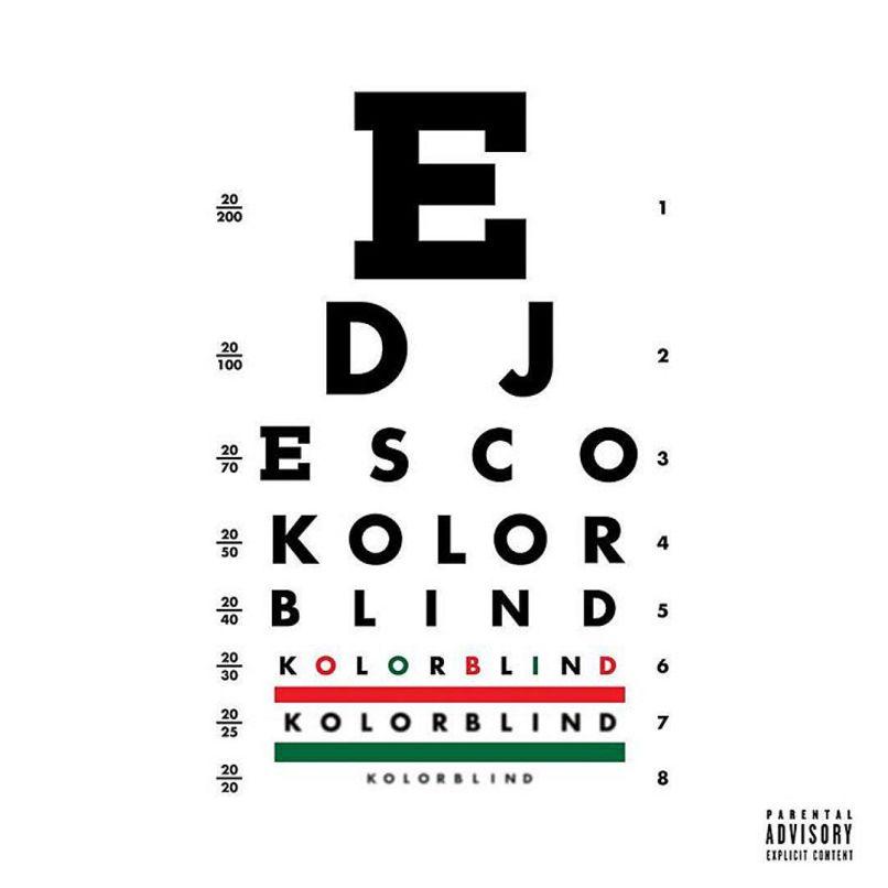 kolorblind DJ Esco drops star studded album, Kolorblind: Stream