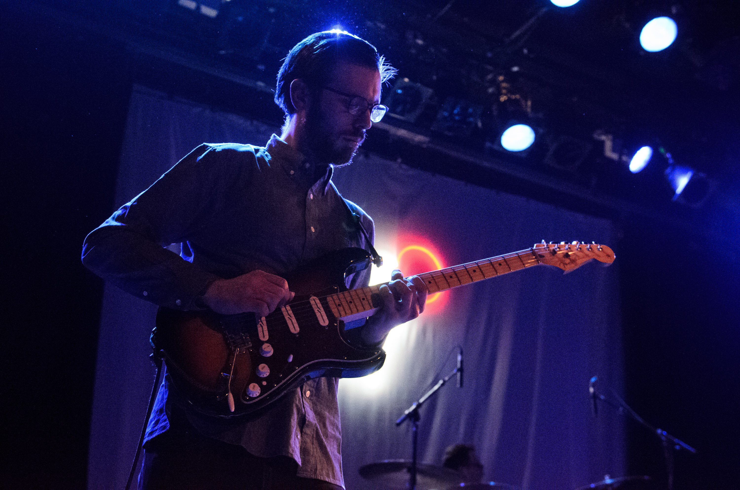 Lucy Dacus guitarist Jacob Blizard, photo by Ben Kaye