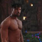 Michael B. Jordan in Black Panther