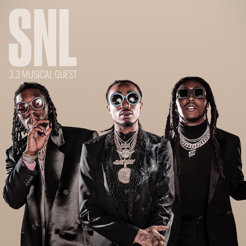 Migos on Saturday Night Live