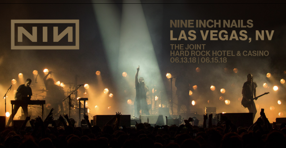 Nine Inch Nails Announce Las Vegas Concerts Their Only North
