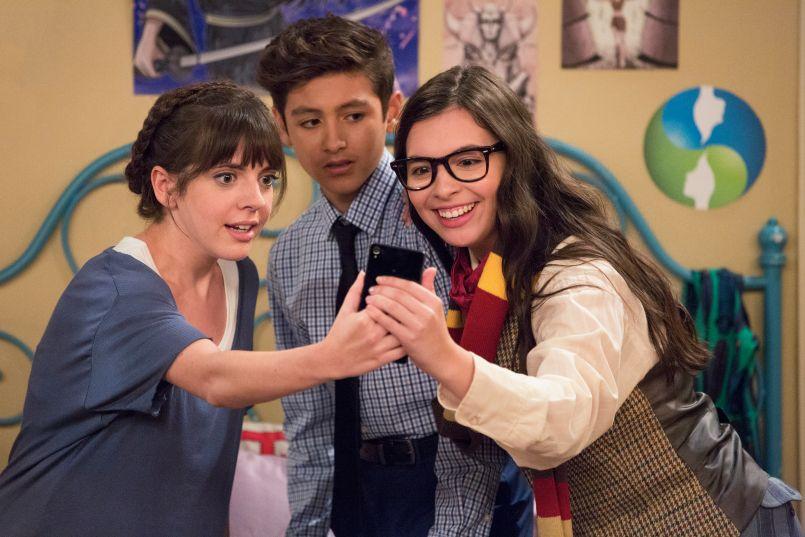 Sheridan Pierce, Marcel Ruiz, Isabella Gomez (Mike Yarish/Netflix)
