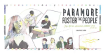 Paramore and Foster the People's After the Laughter Summer Tour Poster