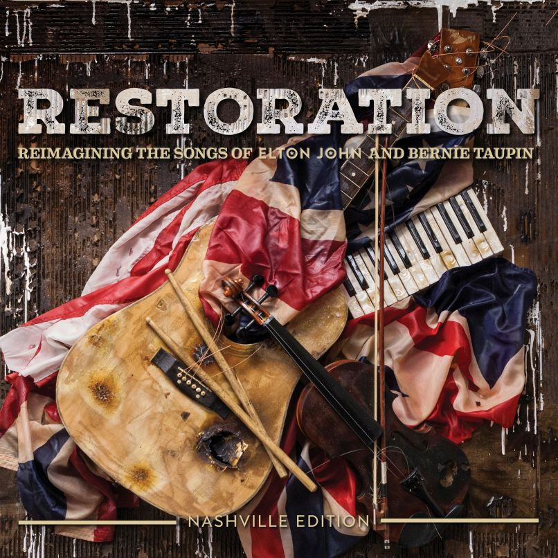 restoration cover web quality1 Elton John tribute album Revamp, featuring QOTSA, The Killers, Florence + The Machine, out now: Stream
