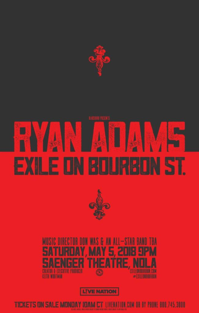 Ryan Adams will cover Exile On Main St  at Rolling Stones