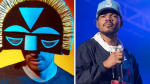 SBTRKT and Chance the Rapper (photo by Amy Price)