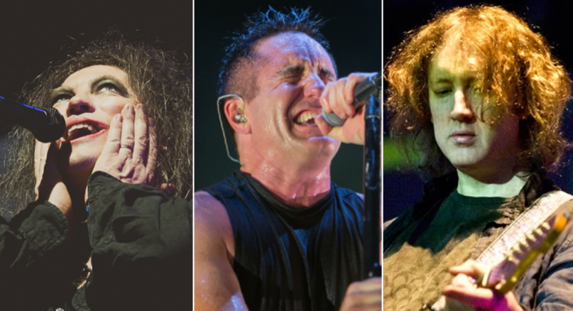 The Cure (Debi Del Grande), Nine Inch Nails (Philip Cosores), My Bloody Valentine (Carsten Windhorst)
