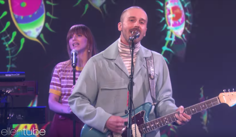 "Portugal. the Man perform ""Live in the Moment"" on The Ellen Show"