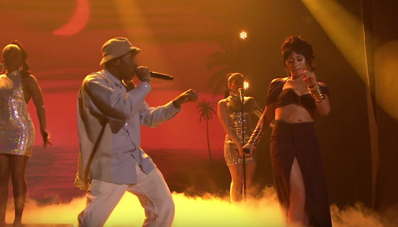 f2043a2ffb4a Kali Uchis ft. Tyler the Creator on The Tonight Show