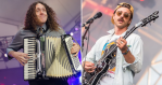 """""""Weird Al"""" Yankovic and Portugal. the Man, photos by Ben Kaye and Philip Cosores"""