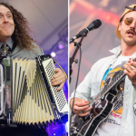 """Weird Al"" Yankovic and Portugal. the Man, photos by Ben Kaye and Philip Cosores"