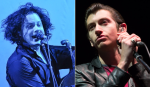 Jack White and Arctic Monkeys (photo by Philip Cosores)