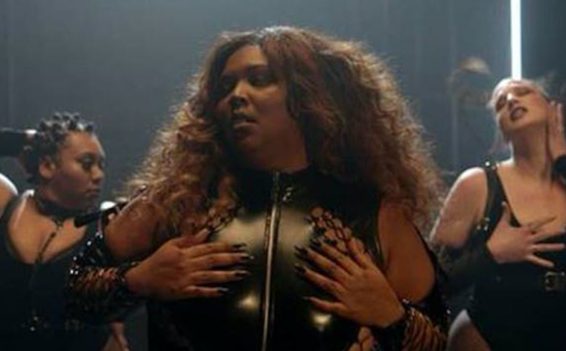 "Lizzo's ""Fitness"" music video"