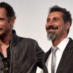 Serj Takian with Chris Cornell