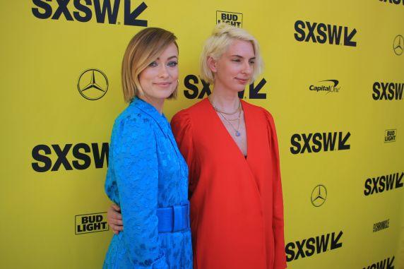Olivia Wilde and Sarah Daggar-Nickson // A Vigilante, photo by Heather Kaplan