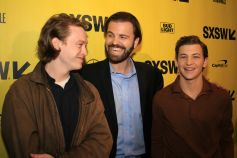 Caleb Landry Jones, AJ Edwards, and Tye Sheridan // Friday's Child, photo by Heather Kaplan