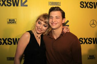 Imogen Poots and Tye Sheridan // Friday's Child, photo by Heather Kaplan