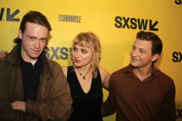 Caleb Landry Jones, Imogen Poots, and Tye Sheridan // Friday's Child, photo by Heather Kaplan