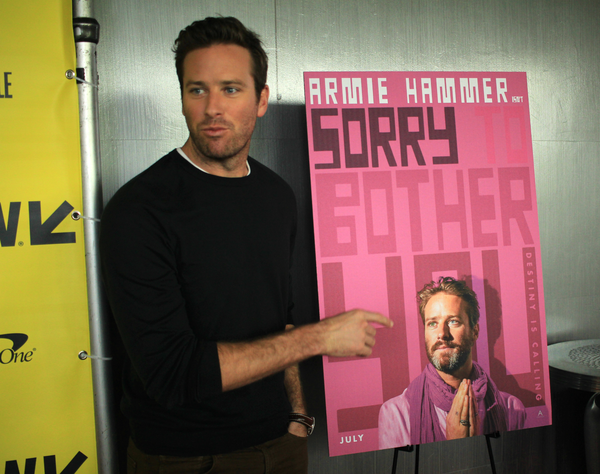 Armie Hammer // Sorry to Bother You, photo by Heather Kaplan