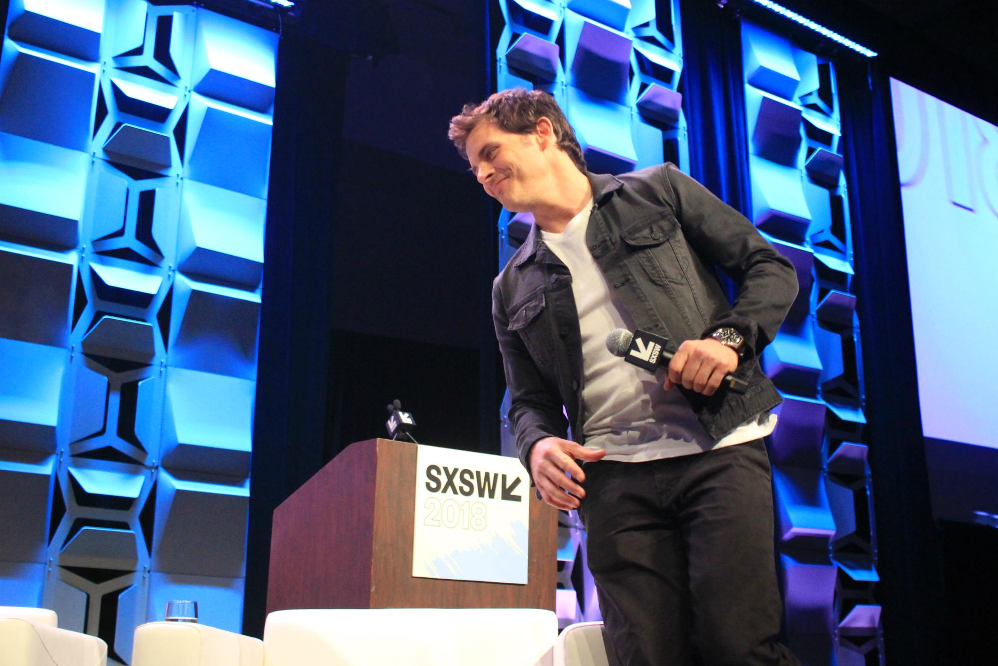 James Marsden // Westworld, photo by Heather Kaplan