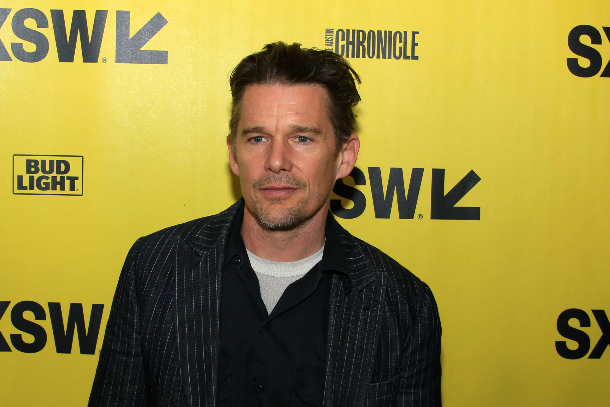 Ethan Hawke // First Reformed, photo by Heather Kaplan