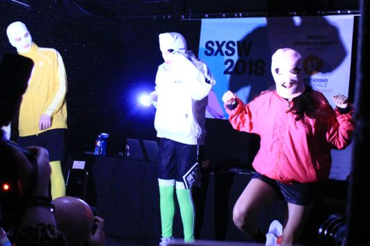 Pussy Riot // SXSW Official Music Opening Party, photo by Heather Kaplan
