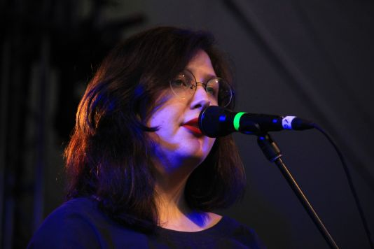 Lucy Dacus // NPR Showcase at Stubb's, photo by Heather Kaplan